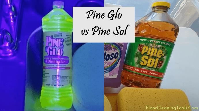 pine glo vs pine sol