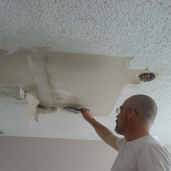 what-to-do-after-removing-popcorn-ceiling